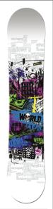 World Girl Snowboard