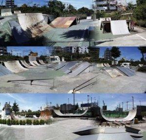 Amazing Square Skate Park, Japan