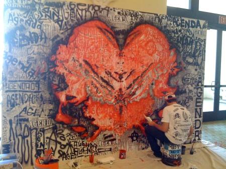 Deth Kills wall @ Agenda